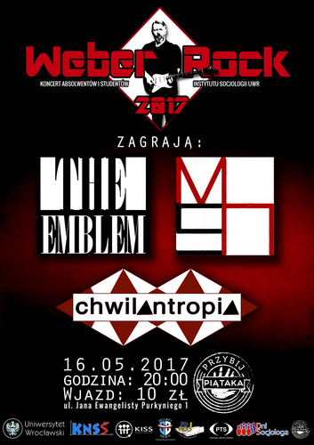 Weber-Rock-Plakat