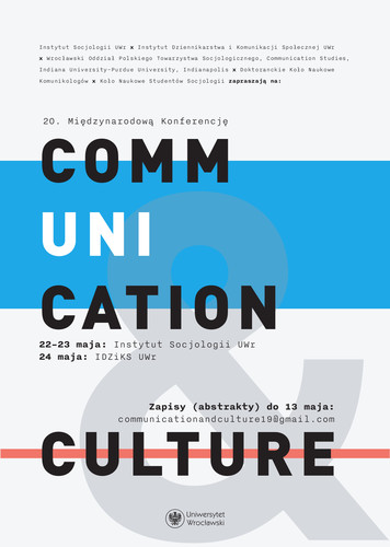 konfCommunicationAndCulture